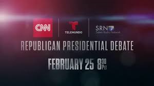 Republican Candidates Donald Trump, Ted Cruz, Marco Rubio, John Kasich & Ben Carson Square-off Thursday February 25th Houston, Texas Alamo Style Last Stand for Trailing Presidential Candidates